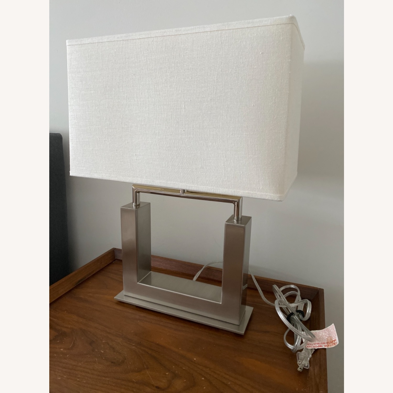 Crate & Barrel Table Lamp - image-7
