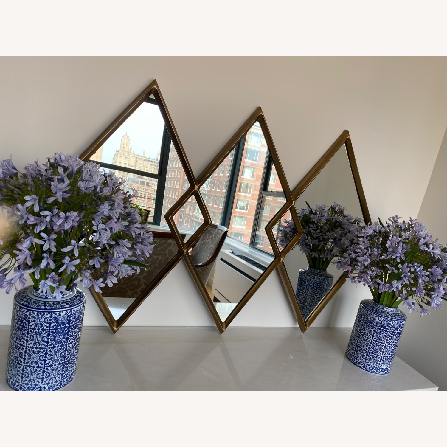 West Elm Overlapping Mirror - image-2