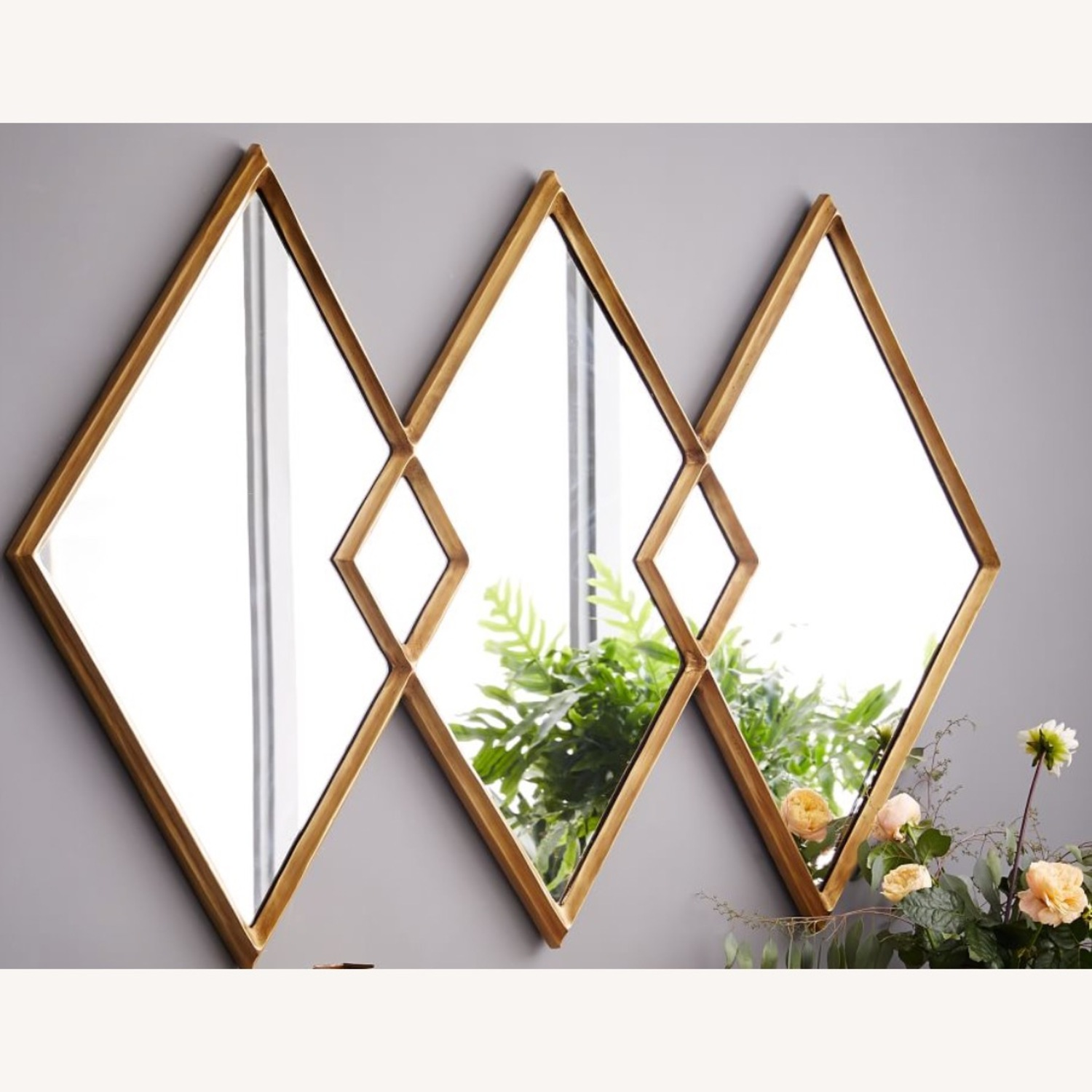 West Elm Overlapping Mirror - image-1