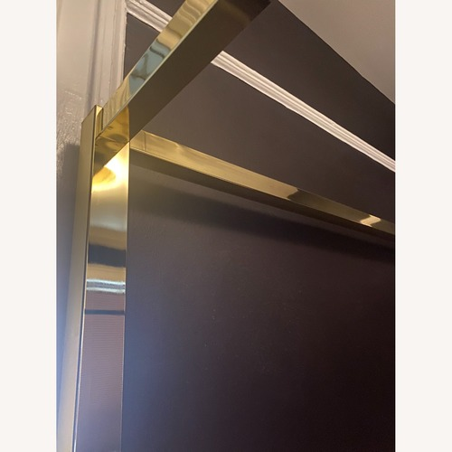 Used Gold Metal Canopy Frame for sale on AptDeco