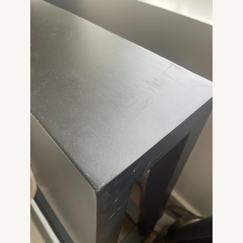 CB2 Alpine Gunmetal Queen Bed - image-3
