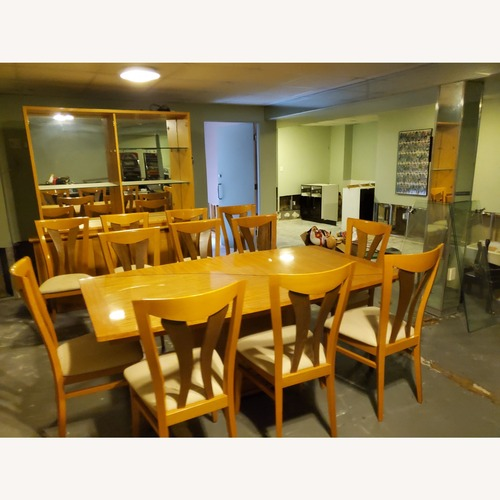 Used Ello Dining Room Set with 12 Chairs for sale on AptDeco