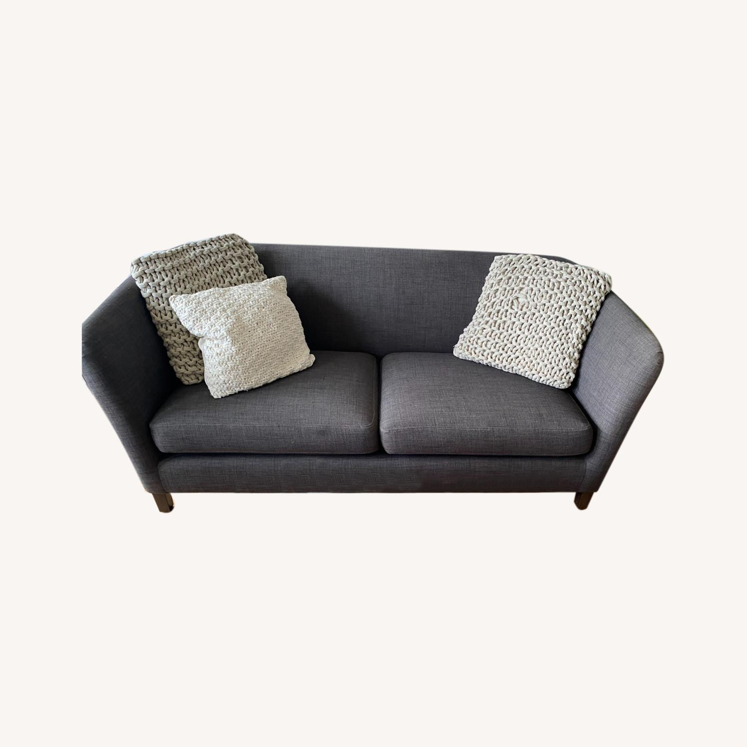 Crate and Barrel Loveseat - image-0