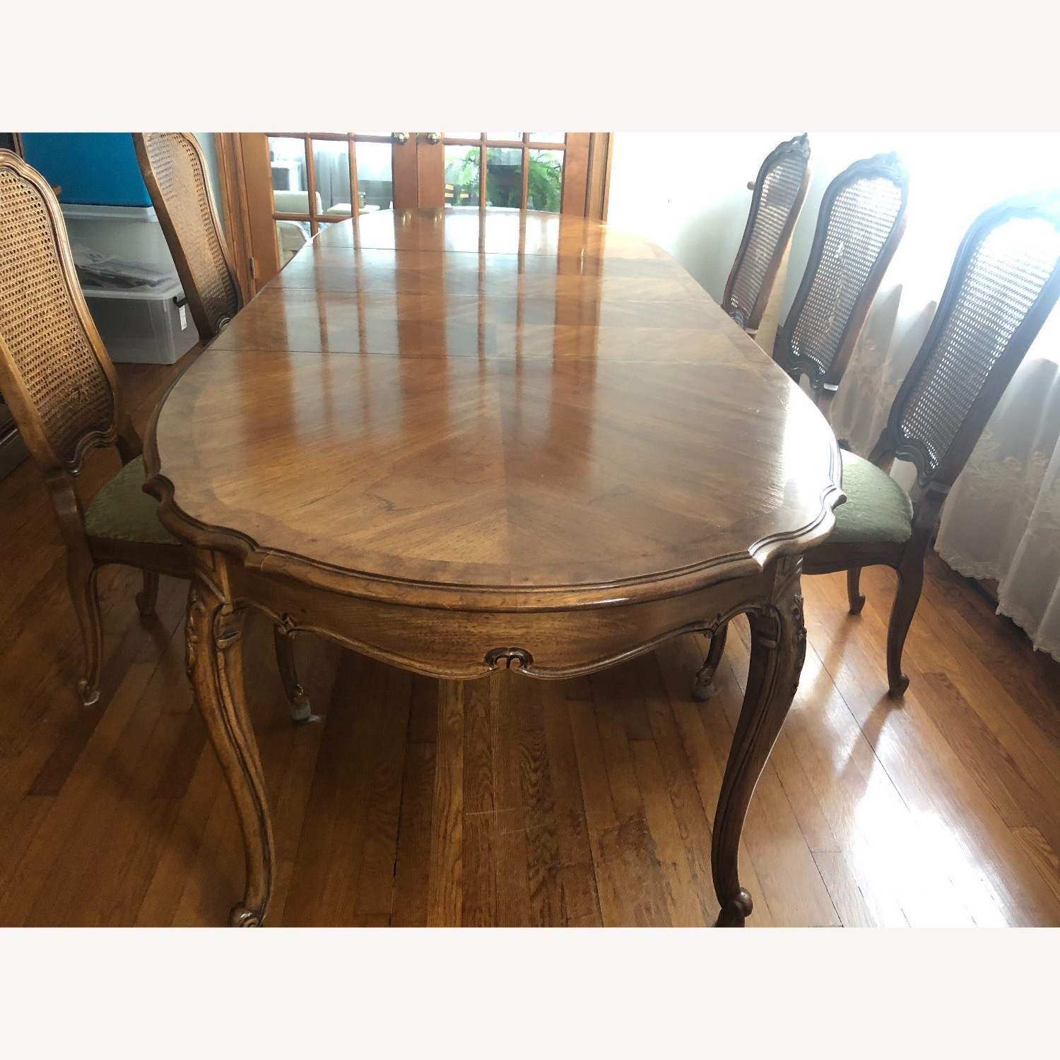 Custom-Made Solid Wood Dining Table - image-0