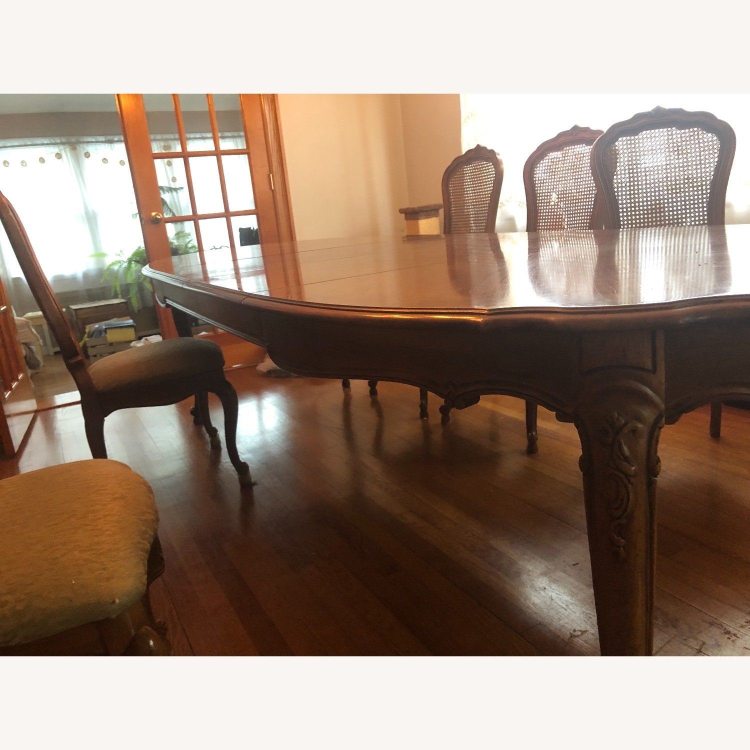 Custom-Made Solid Wood Dining Table - image-2