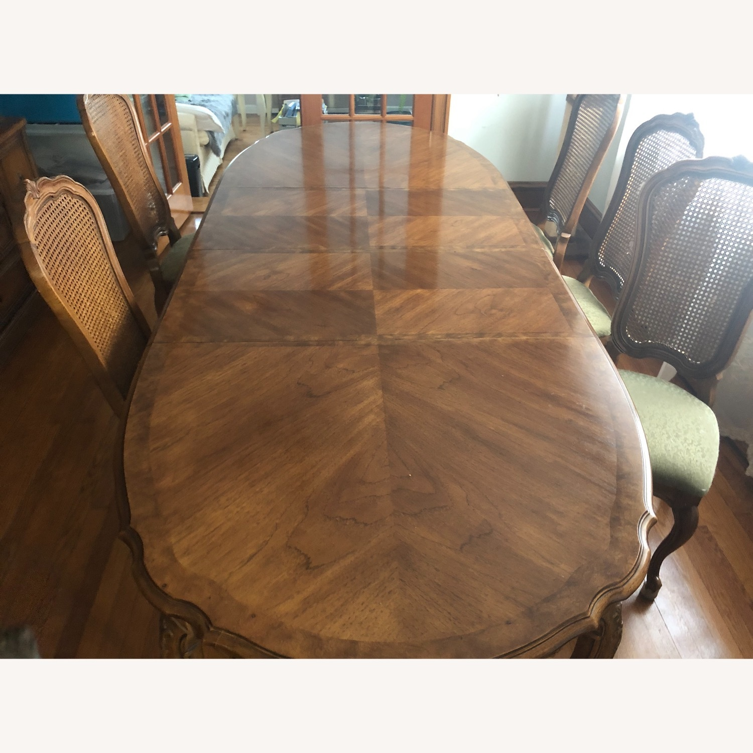 Custom-Made Solid Wood Dining Table - image-3