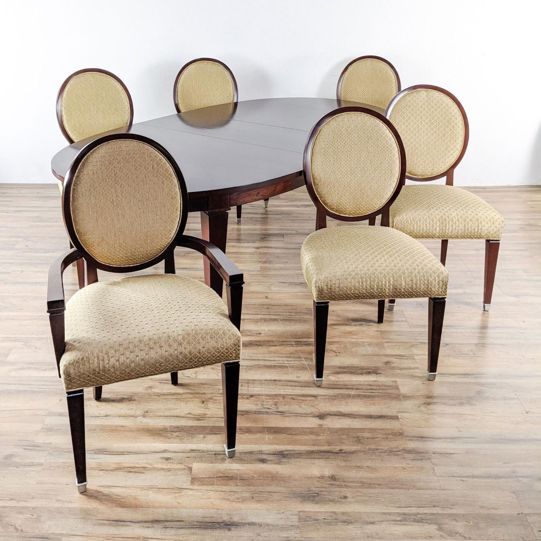 Stickley Metropolitan Collection Dining Set - image-4