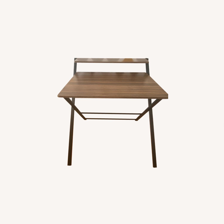 Walmart Natural Wood Grain Desk - image-0