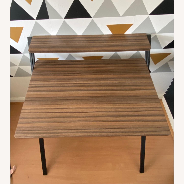 Walmart Natural Wood Grain Desk - image-2