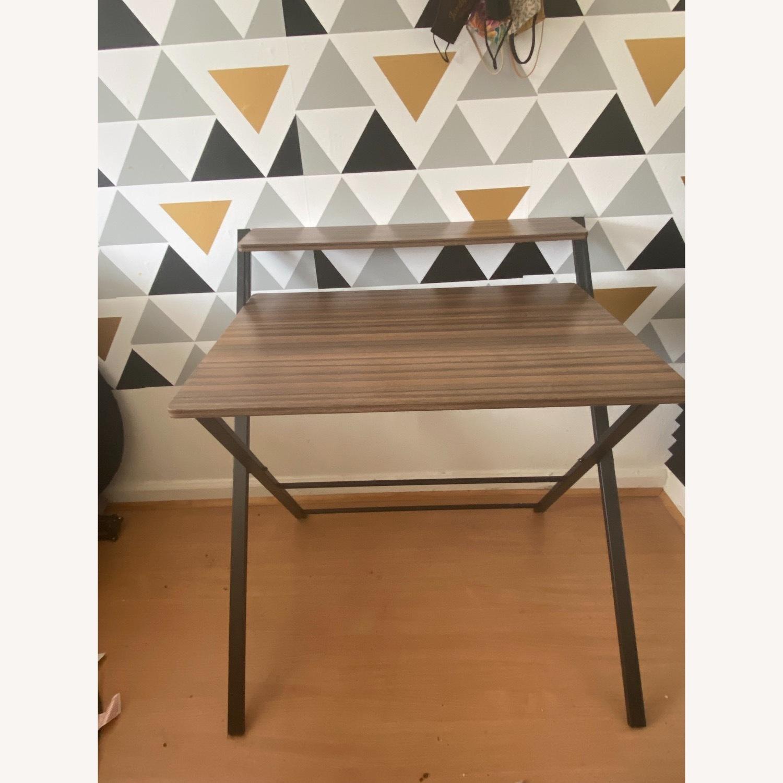 Walmart Natural Wood Grain Desk - image-1