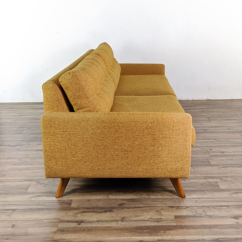 Thrive Harvest Gold Upholstered Sofa - image-5