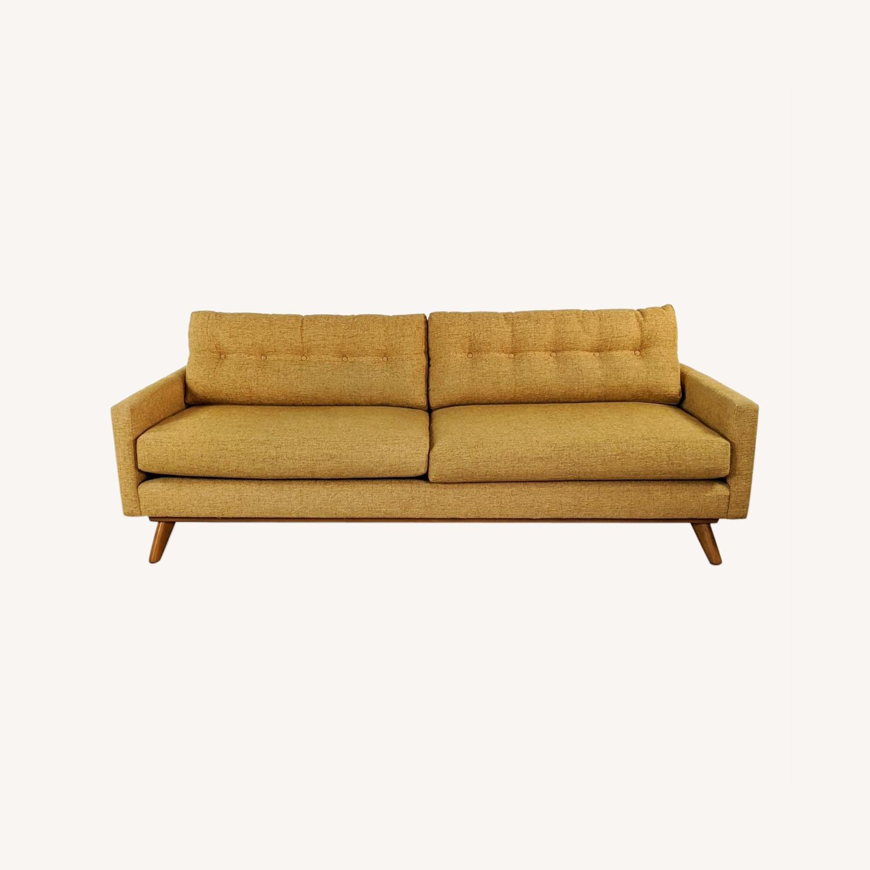 Thrive Harvest Gold Upholstered Sofa - image-0