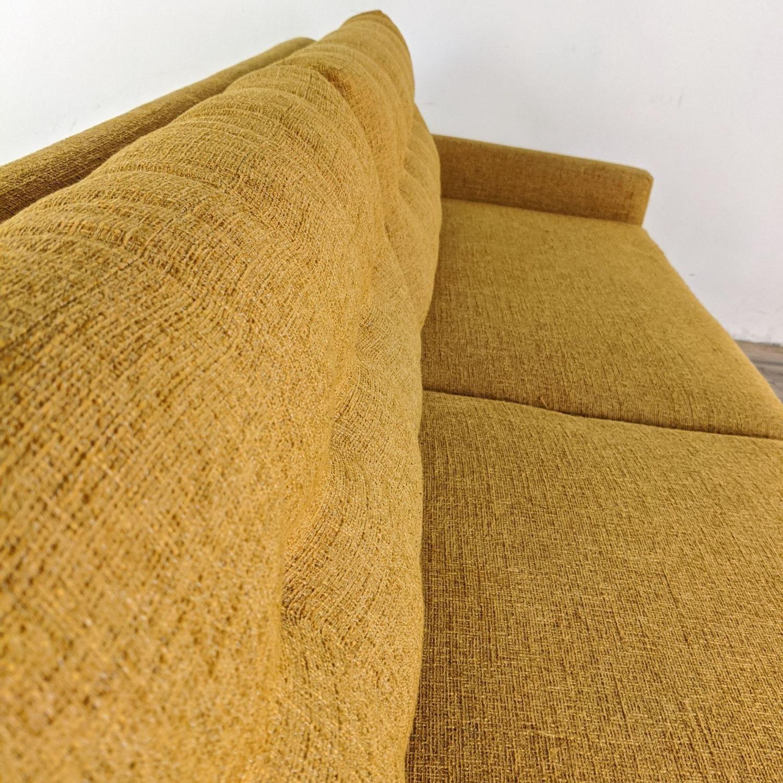 Thrive Harvest Gold Upholstered Sofa - image-2