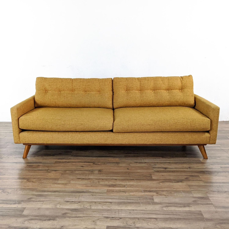 Thrive Harvest Gold Upholstered Sofa - image-4