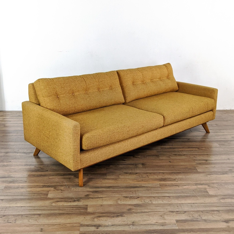 Thrive Harvest Gold Upholstered Sofa - image-3