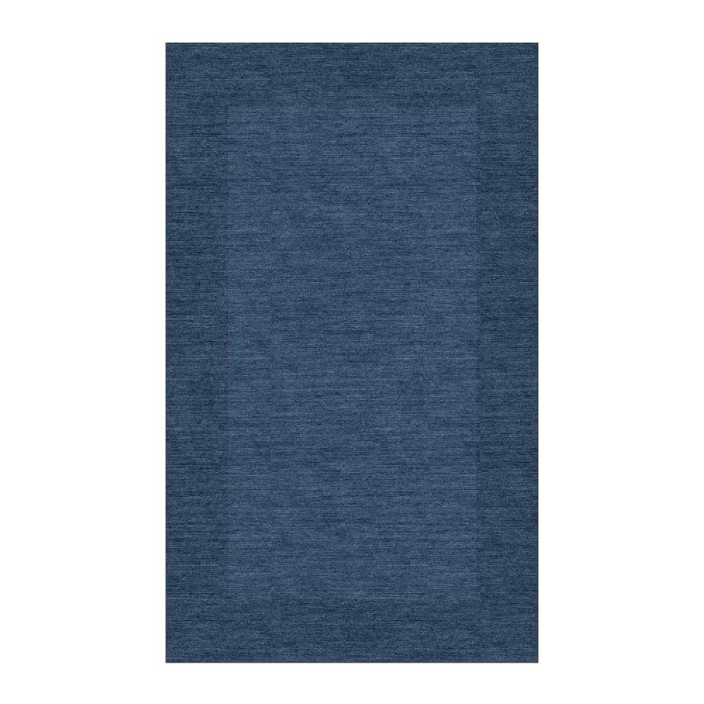Pottery Barn Blue Mystique Color Henley Rug - image-4