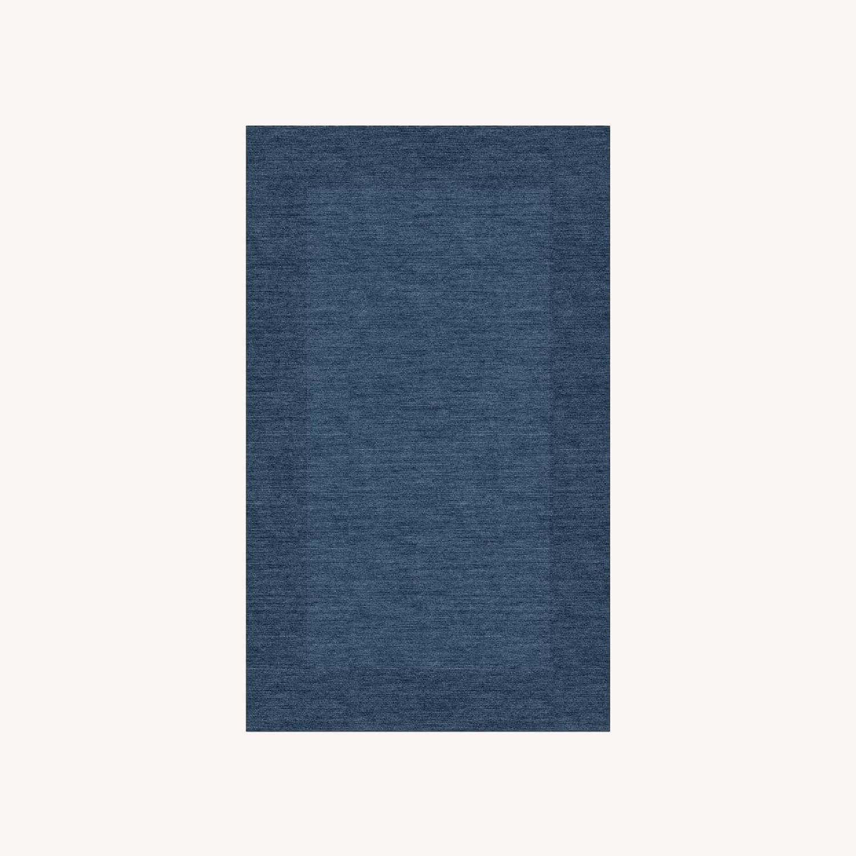 Pottery Barn Blue Mystique Color Henley Rug - image-0