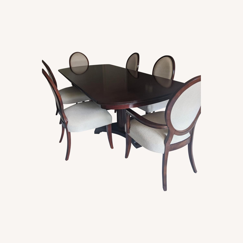 Ralph Lauren Dining Set plus 8 Chairs - image-0