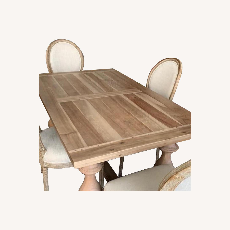 Restoration Hardware 5-Piece Dining Set - image-0