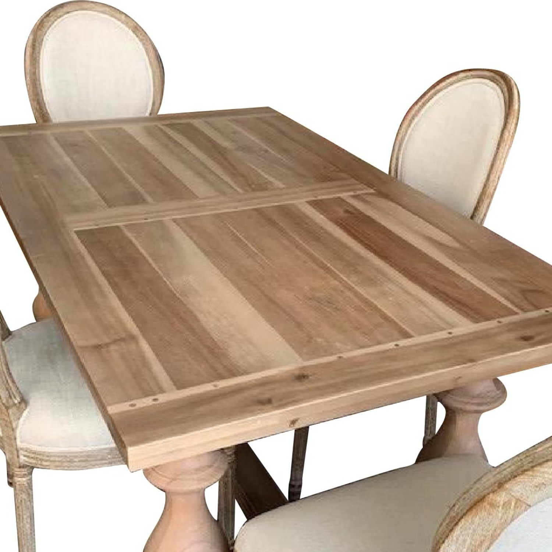 Restoration Hardware 5-Piece Dining Set - image-4