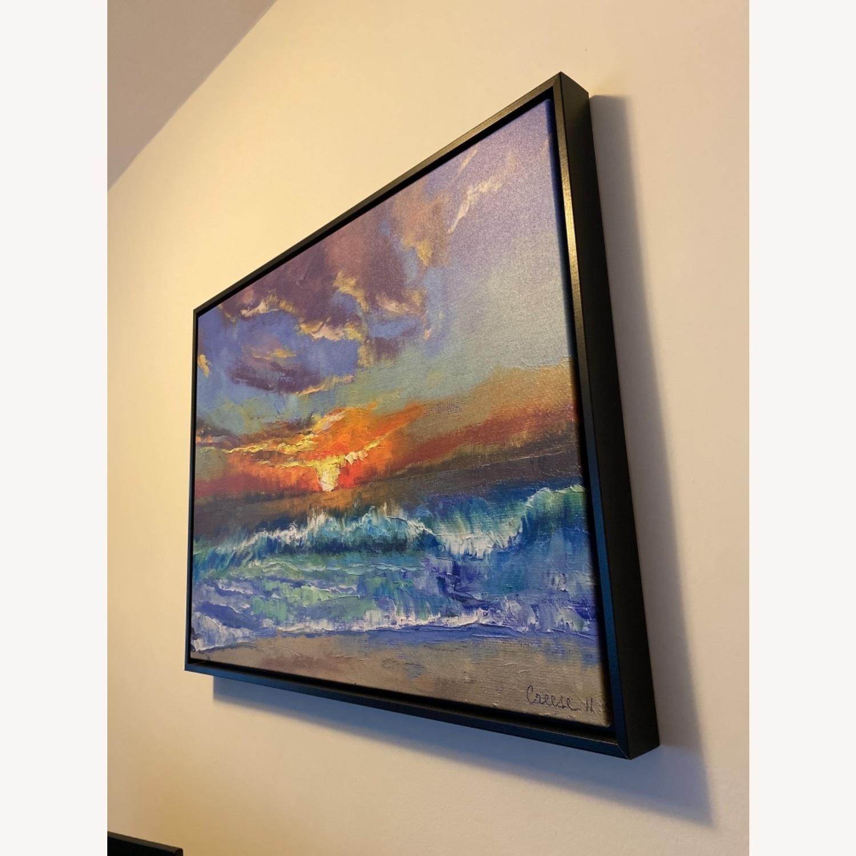 Great Big Canvas Malibu Beach Sunset Wall Art - image-2