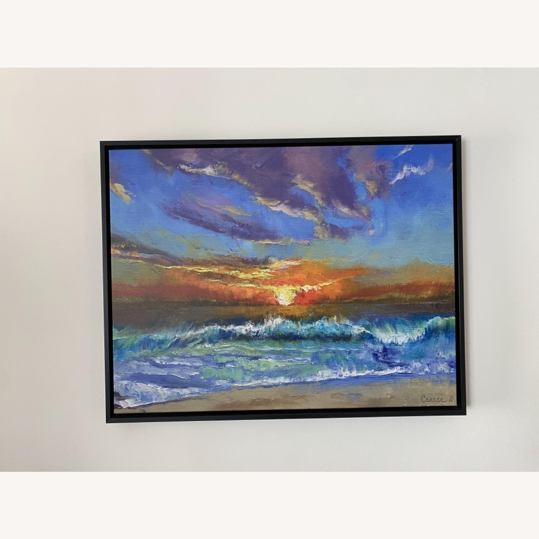 Great Big Canvas Malibu Beach Sunset Wall Art - image-1