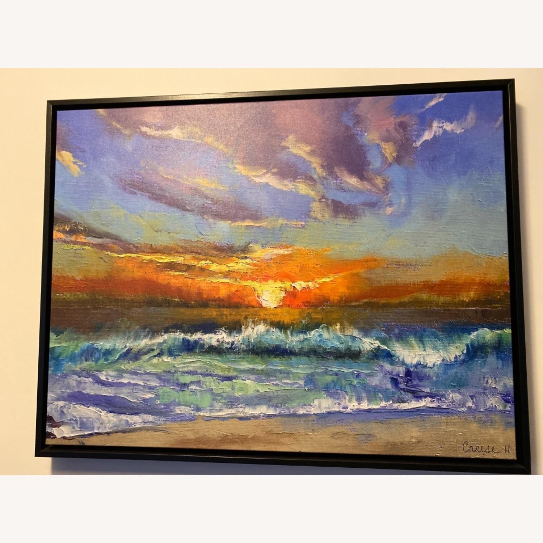 Great Big Canvas Malibu Beach Sunset Wall Art - image-4
