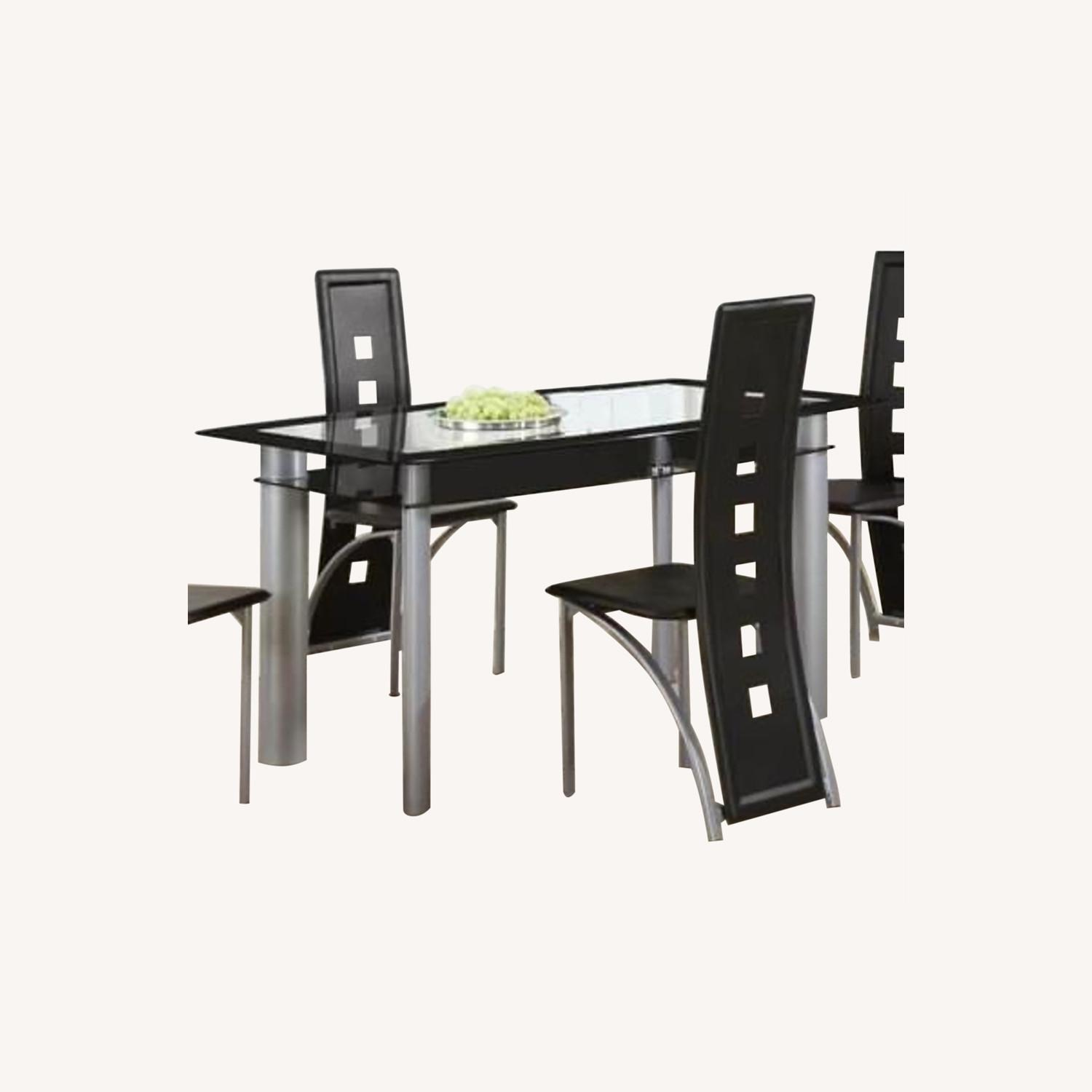 Wayfair Black Dining Table Set with Chairs - image-0