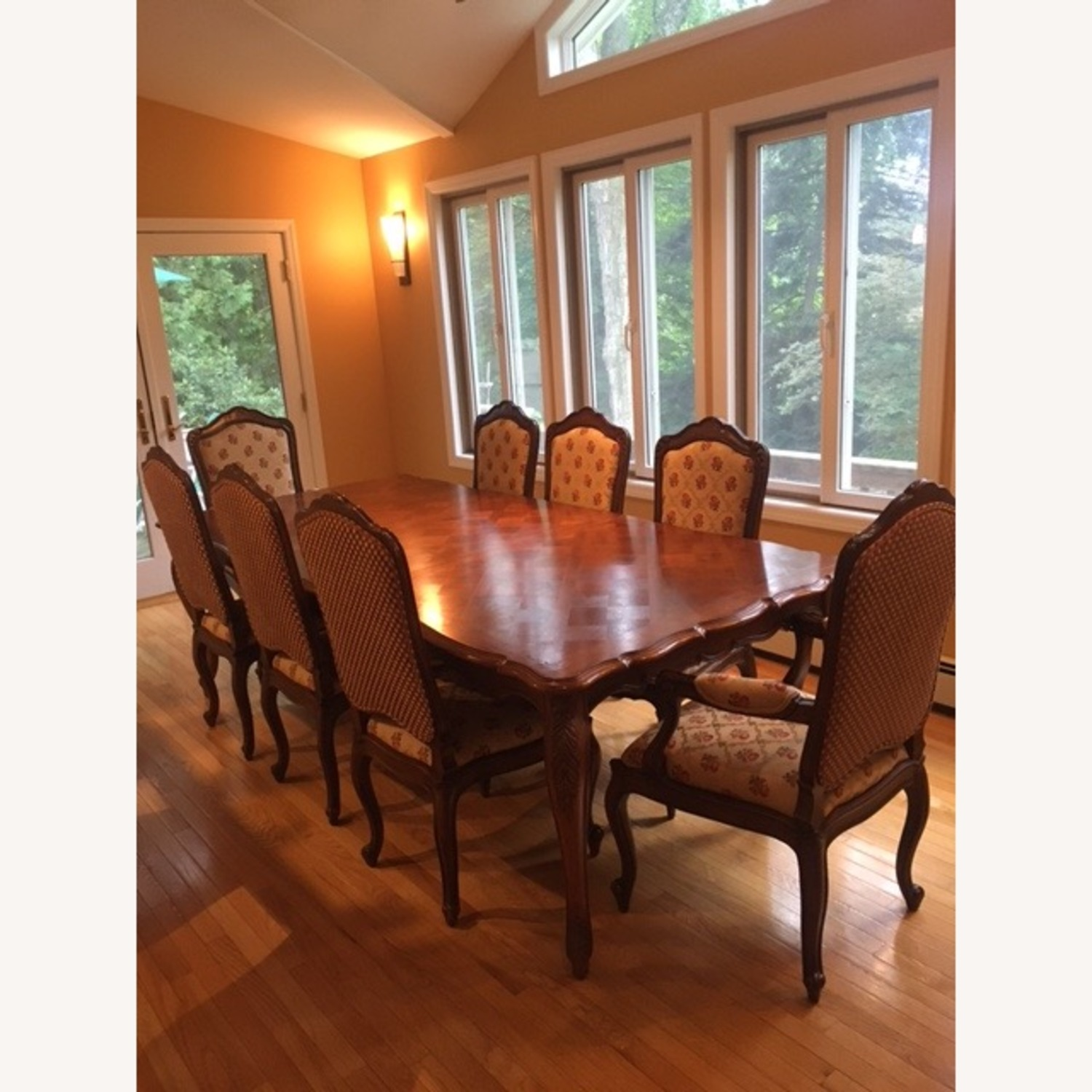 Century Harden Extendable Dining Table and Chairs - image-0