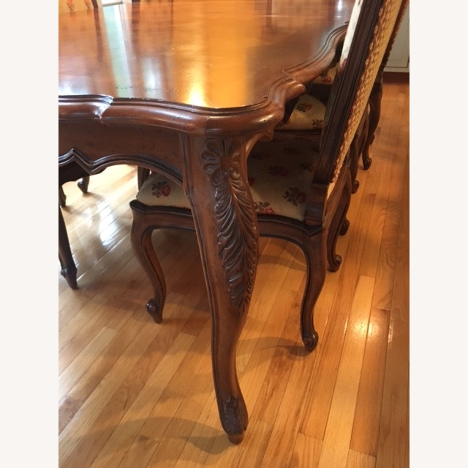Century Harden Extendable Dining Table and Chairs - image-2