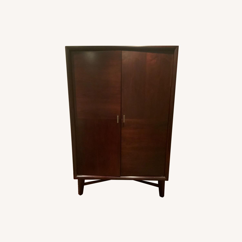 Lane Furniture Mid-Century Modern Entertainment Armoire - image-0