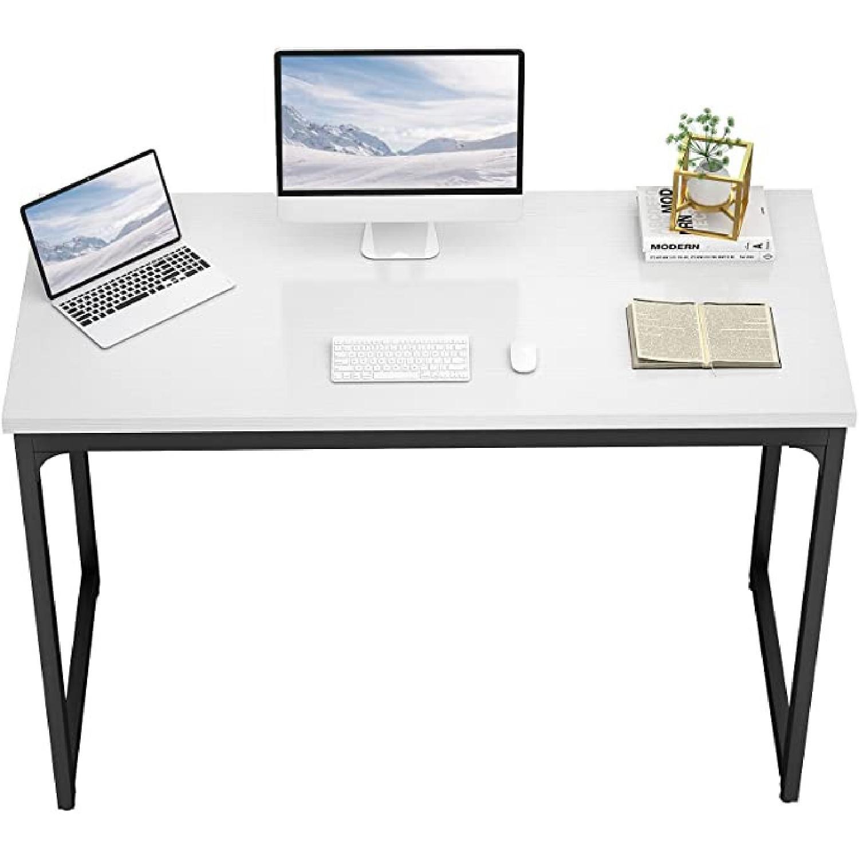 "White 47"" Working Desk. - image-4"