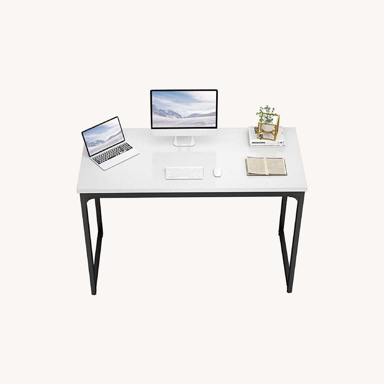 "White 47"" Working Desk. - image-0"