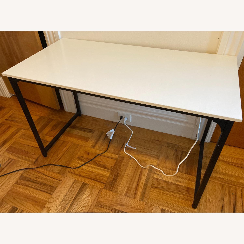 "White 47"" Working Desk. - image-2"