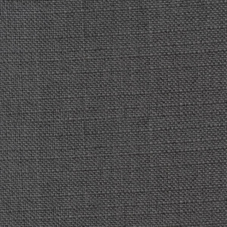 Full Bed In Grey Fabric W/ Bronze Nailhead Trim - image-3