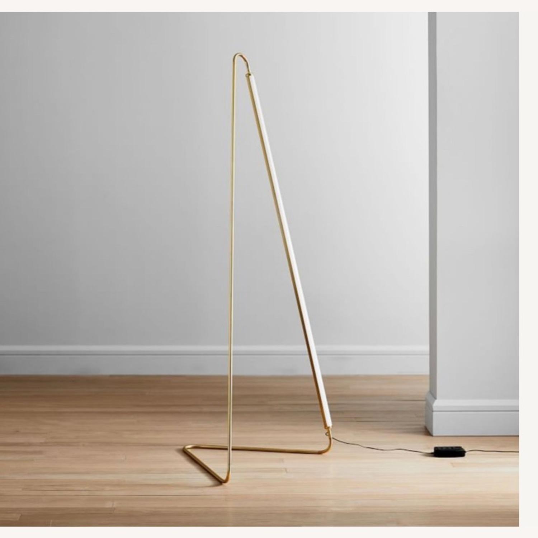 West Elm Line Art LED Lamp - image-2