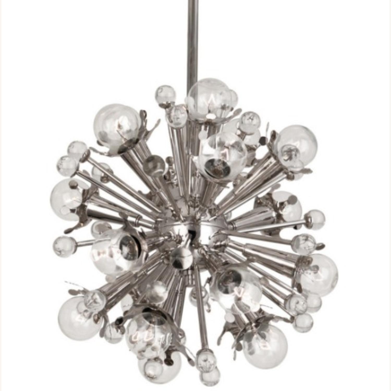 Jonathan Adler Silver Sputnik Chandelier Light Sml - image-4
