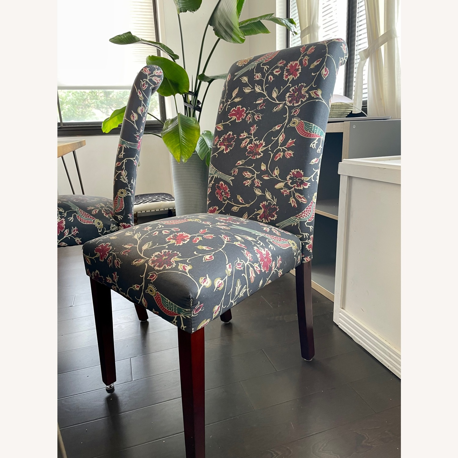 Target Wood Top Dining Table and 4 Matching Chairs - image-4