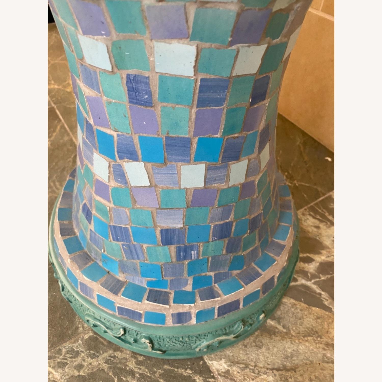 Vintage Mosaic Tile Garden Stool - image-4