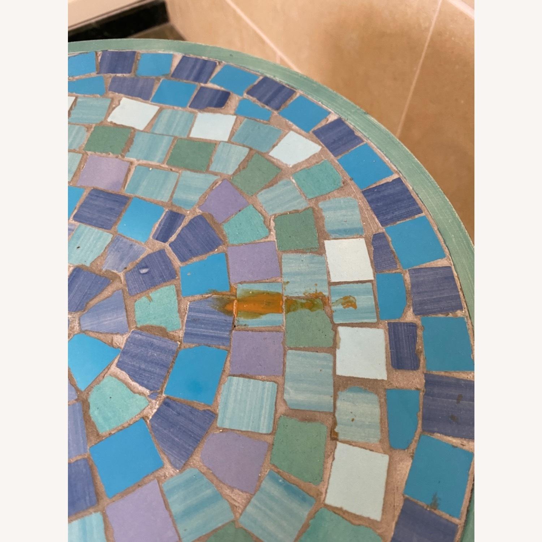 Vintage Mosaic Tile Garden Stool - image-5