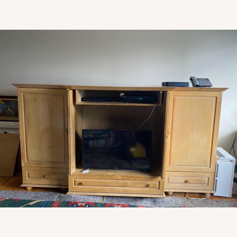 Custom Entertainment Cabinet - image-7