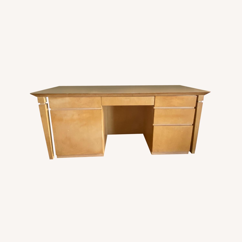 Custom Wood Desk - image-0
