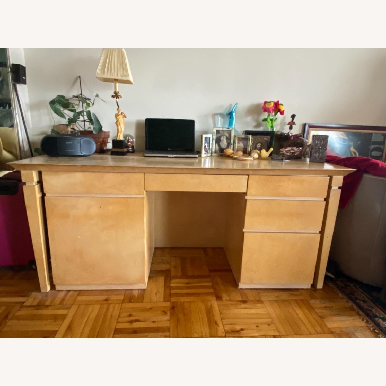 Custom Wood Desk - image-1