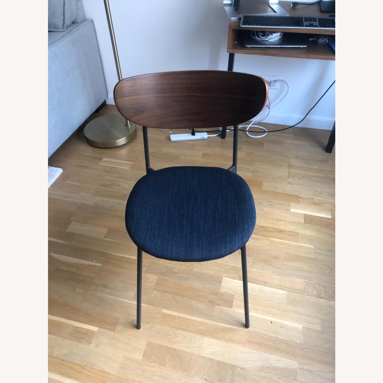 West Elm Mid Century Modern Petal Dining Chair - image-6