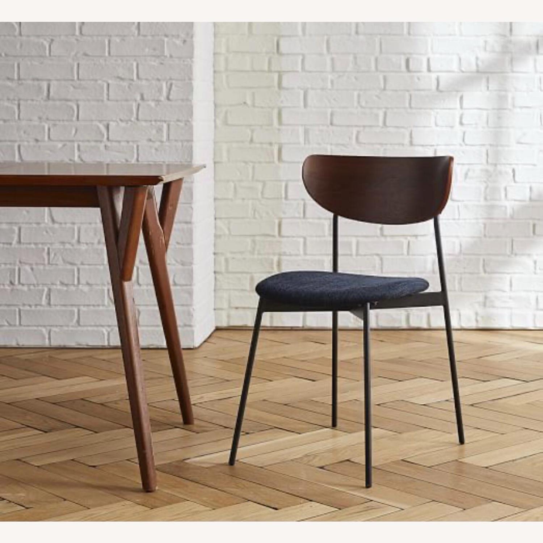 West Elm Mid Century Modern Petal Dining Chair - image-4