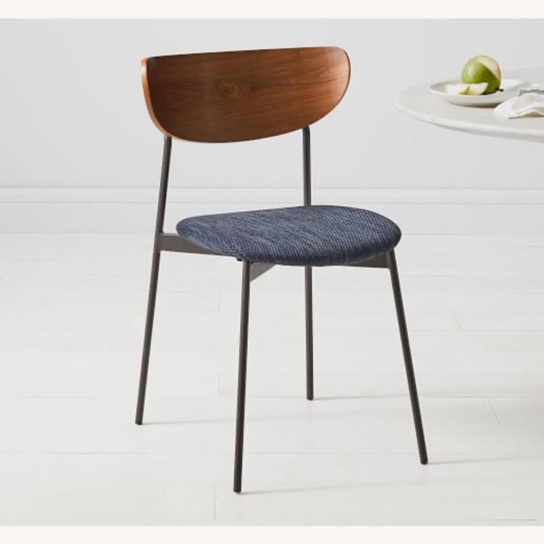 West Elm Mid Century Modern Petal Dining Chair - image-1