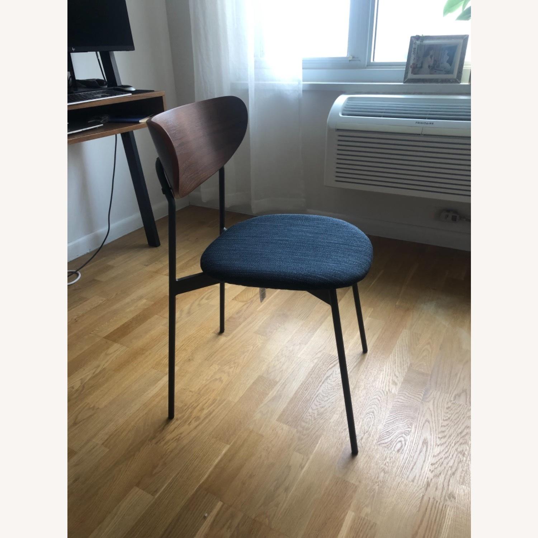 West Elm Mid Century Modern Petal Dining Chair - image-5