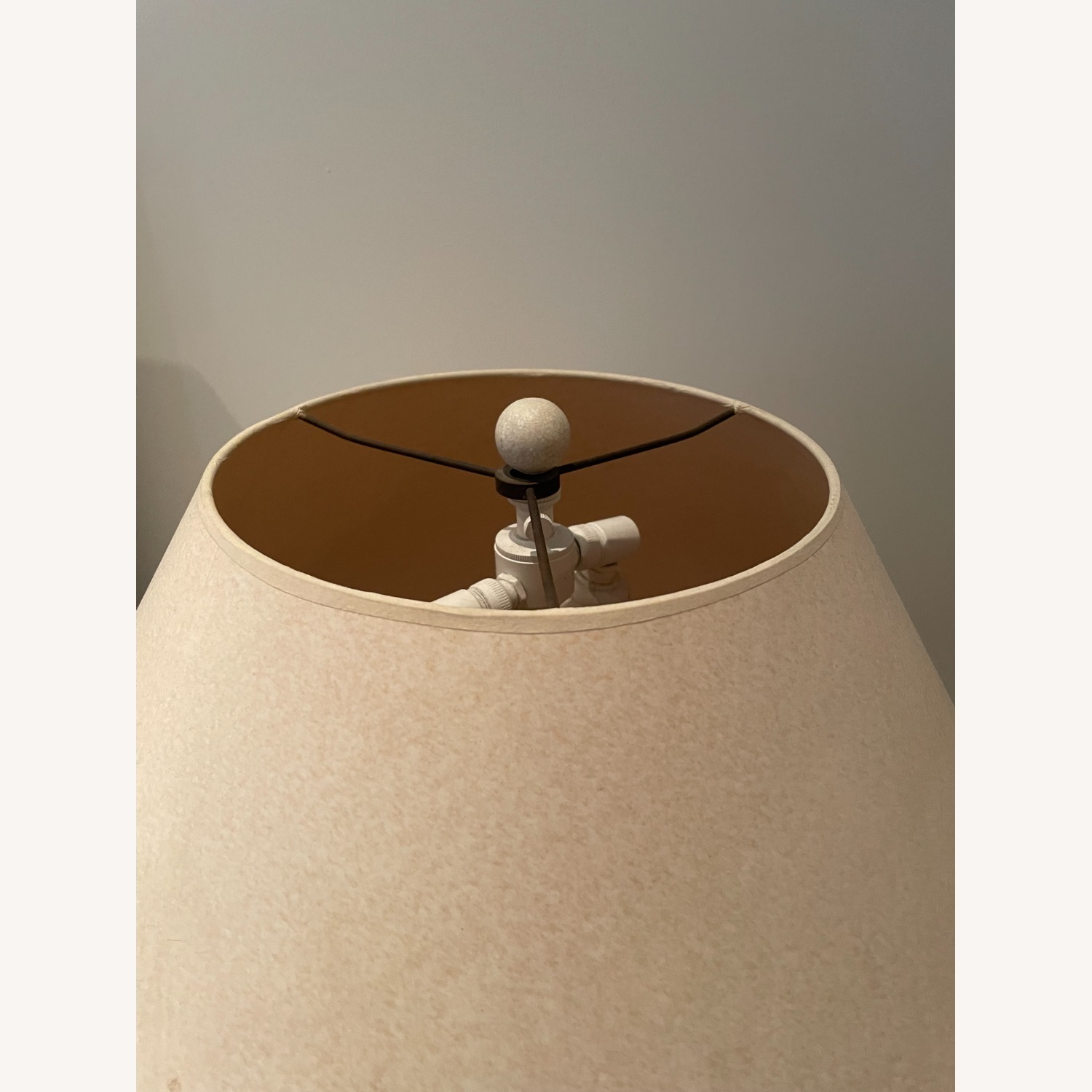 Pair of Concrete Table Lamps - image-3
