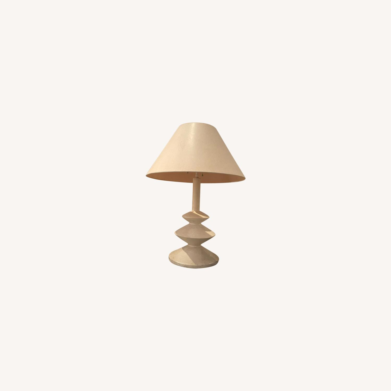 Pair of Concrete Table Lamps - image-0