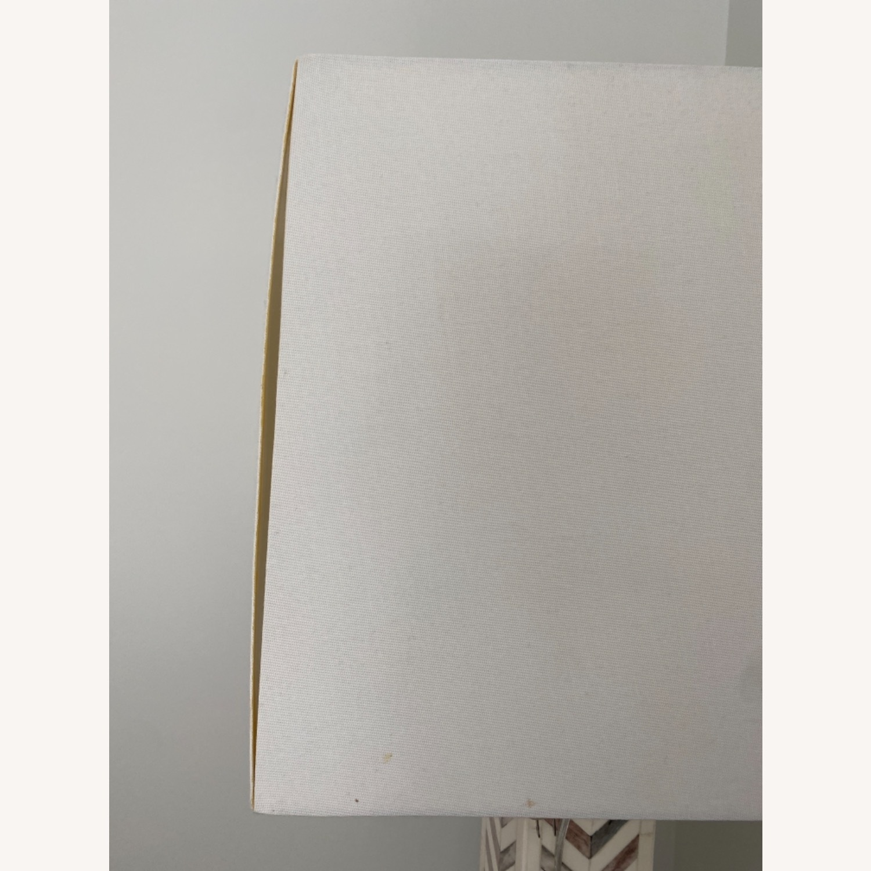 West Elm Parsons Tile Chevron Floor Lamp - image-4